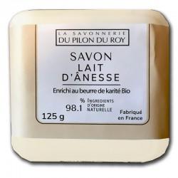 Jabon con leche de burra
