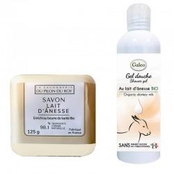 Produits de beauté lait d'anesse bio