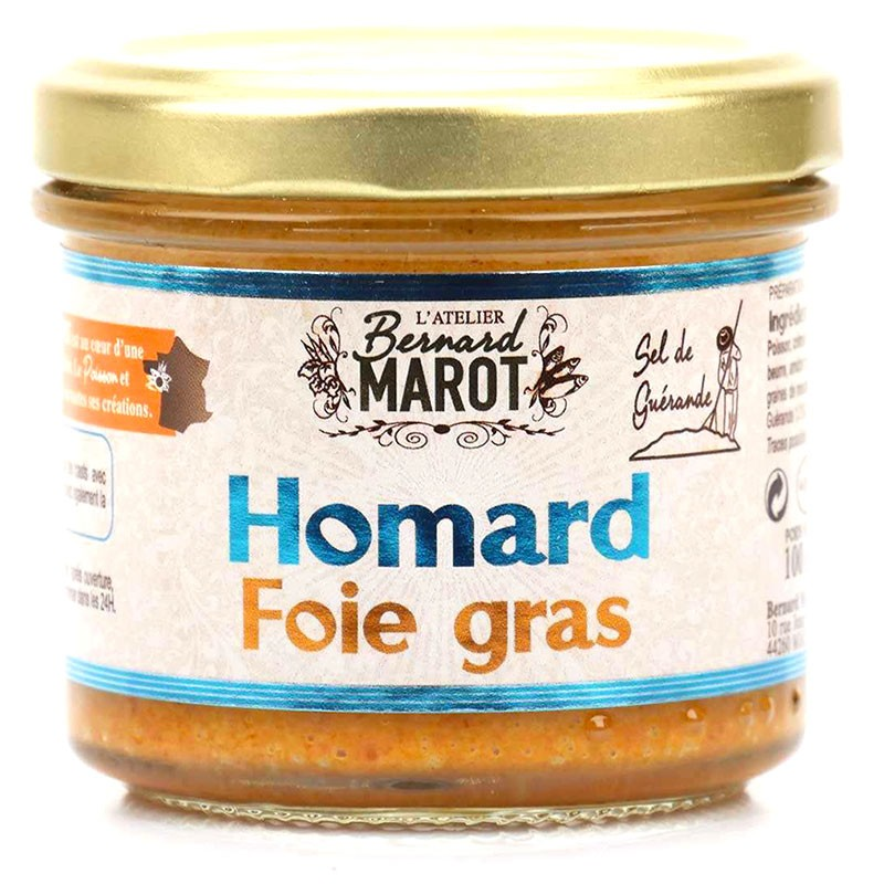 Lobster with foie gras and Guérande - Online French delicatessen