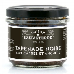 Tapenade aux olives noires - épicerie fine en ligne