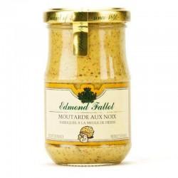 Moutarde aux noix fallot, 210g - épicerie fine en ligne
