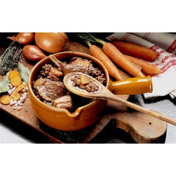Goose confit with green lentils, box 840g - Online French delicatessen