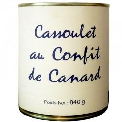 Cassoulet con confit d'anatra, scatola 840g - Gastronomia francese online