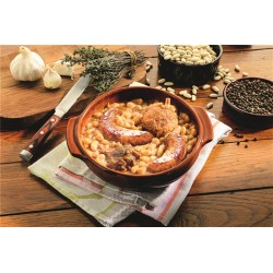 Cassoulet con confit de pato, caja 840g - delicatessen francés online