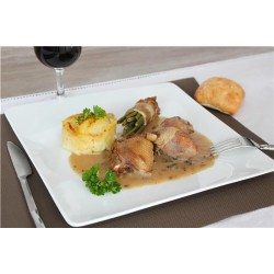 poultry in white wine and morels 820g box - Online French delicatessen