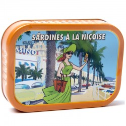 Sardines à la nicoise, 115g - épicerie fine en ligne
