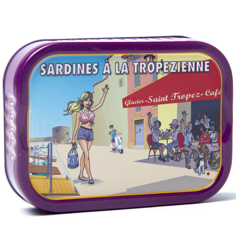 Sardine tropézienne, 115g - Gastronomia francese online