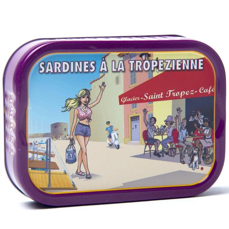 Sardines tropézienne, 115g - Online French delicatessen