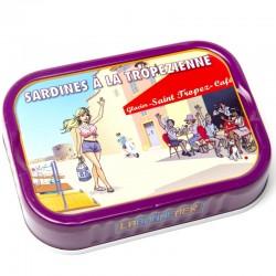 Dégustation de sardines à la mediteranéenne  - épicerie fine en ligne