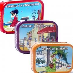 Mediterrane Sardinenverkostung - Online französisches Feinkost