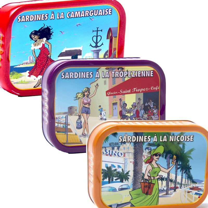 Degustación de sardinas mediterráneas - delicatessen francés online