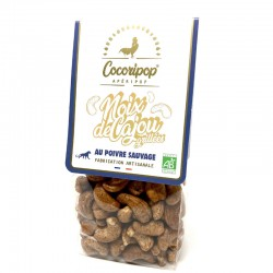 Roasted cashews with wild pepper - Online French delicatessen