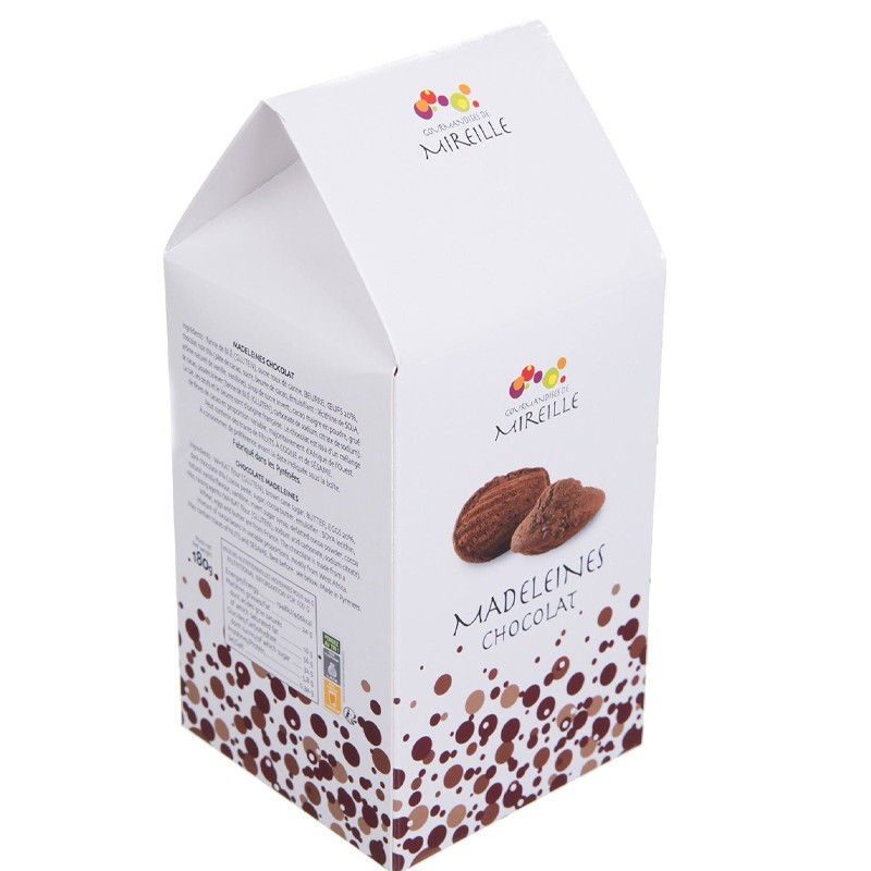 Madeleines au chocolat - épicerie fine en ligne