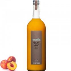 Yellow peach juice, 1L - Online French delicatessen