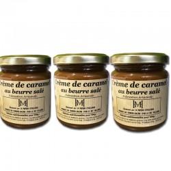 3 Crema de caramelo con mantequilla salada - delicatessen francés online