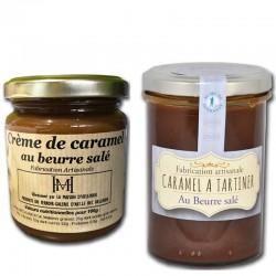 2 Crema de caramelo con mantequilla salada - delicatessen francés online