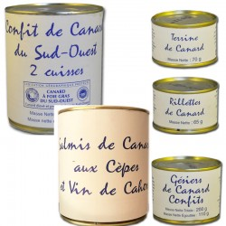 "Gourmet box ""the duck"" - Online French delicatessen"