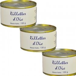Gänse-Rillettes, 3 Schachteln à 130 g - Online französisches Feinkost
