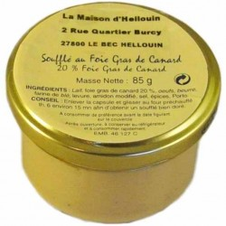 Soufflé au Foie gras