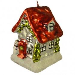 Bougie Maison du Père Noel