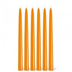 Orange Kerze