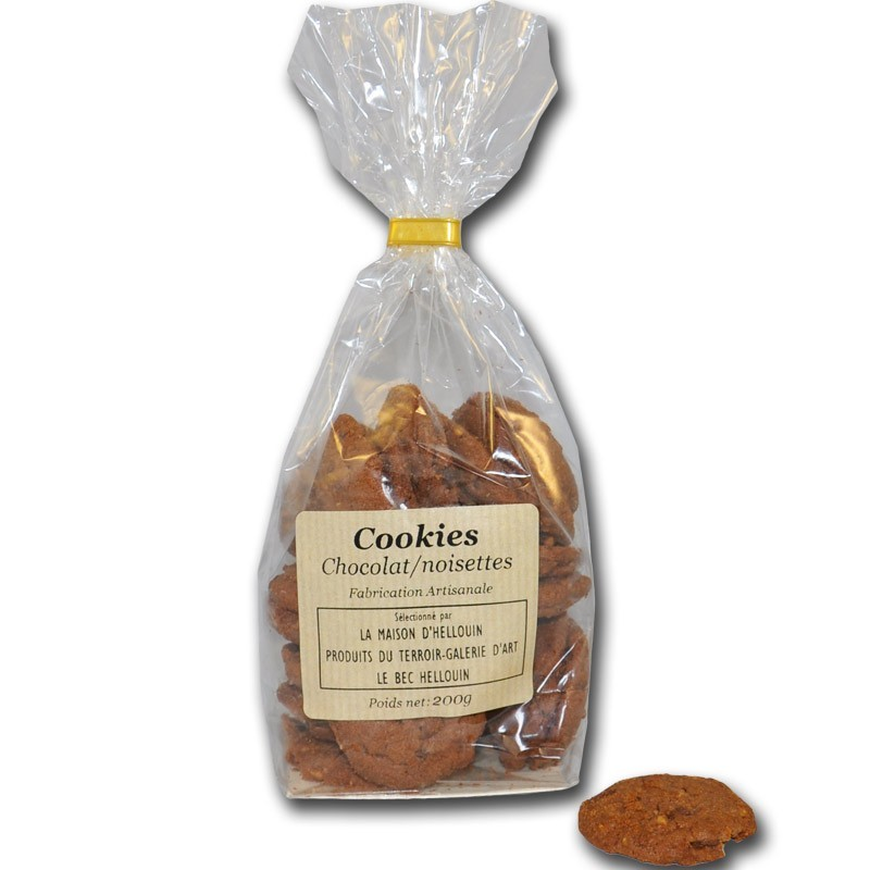 Hazelnut Chocolate Cookies - Online French delicatessen