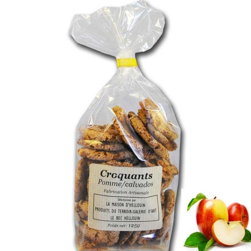 Galleta Crujiente Con Manzana Calvados - delicatessen francés online