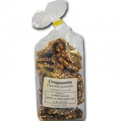Croquants Chocolat Pistache - épicerie fine en ligne