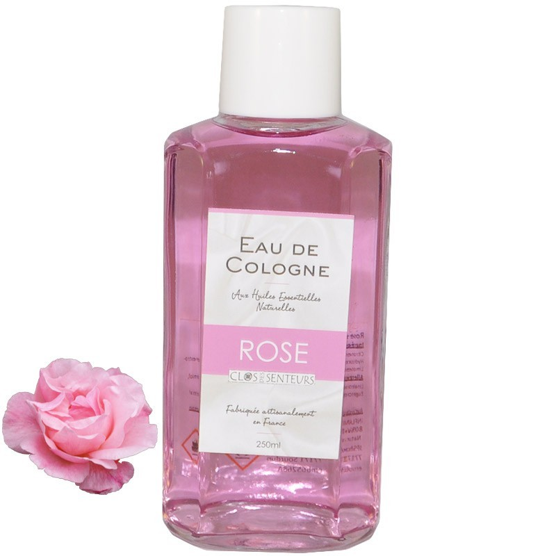 Cologne with rose