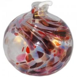 Aubergine oil lamp