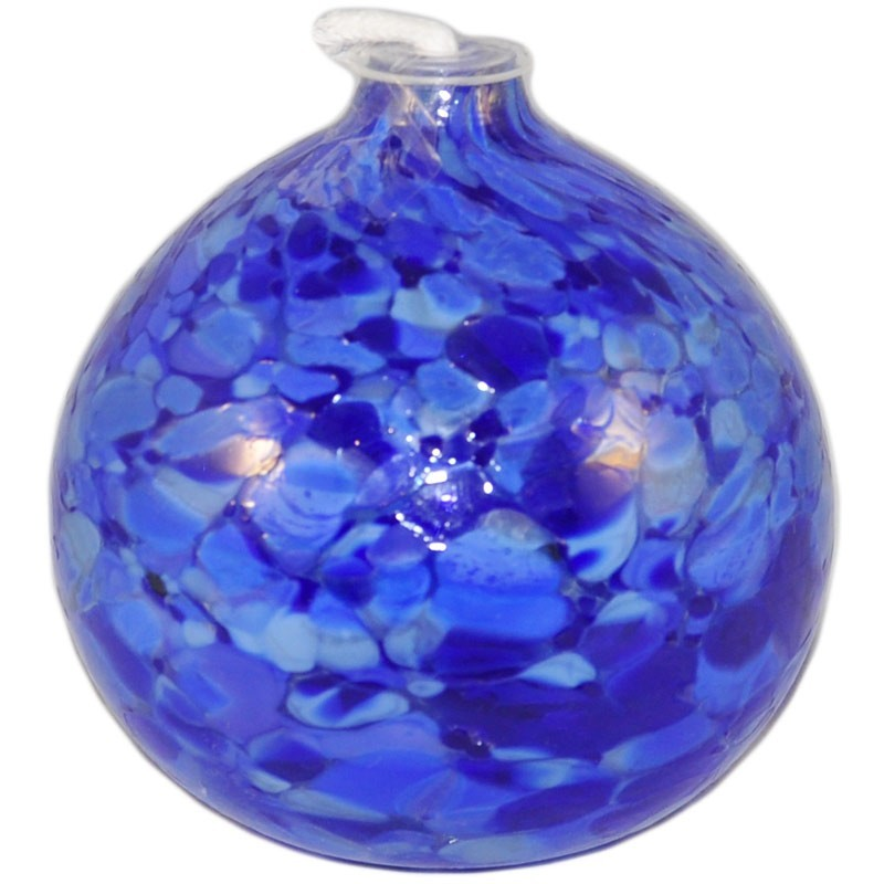 Blaue Öllampe