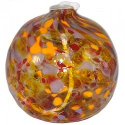 Lámpara de aceite naranja ocre