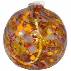 Ocher Orange Oil Lamp
