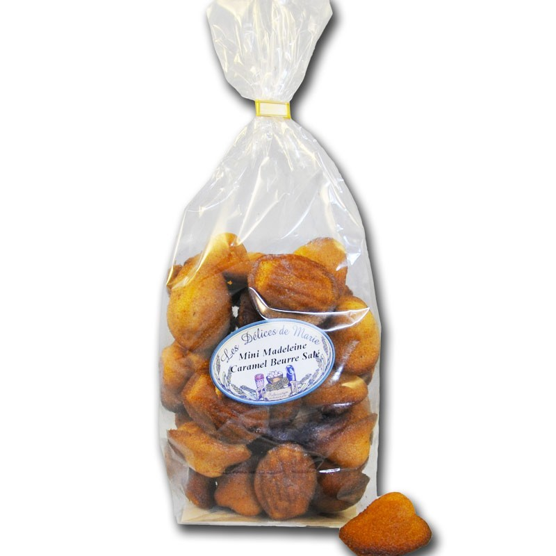 Madeleines Caramel Gezouten boter - Franse delicatessen online