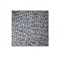 Grande Pintade céramique de Lussan bleue cobalt