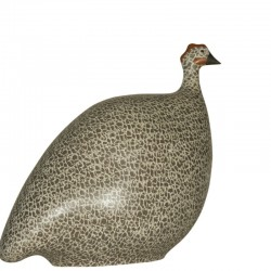 Guineafowl Gray and White Mate Small Model
