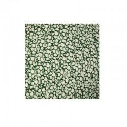 Pintade céramique Blanche et Verte - Moyen Modele