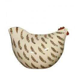 Kleines weißes Huhn