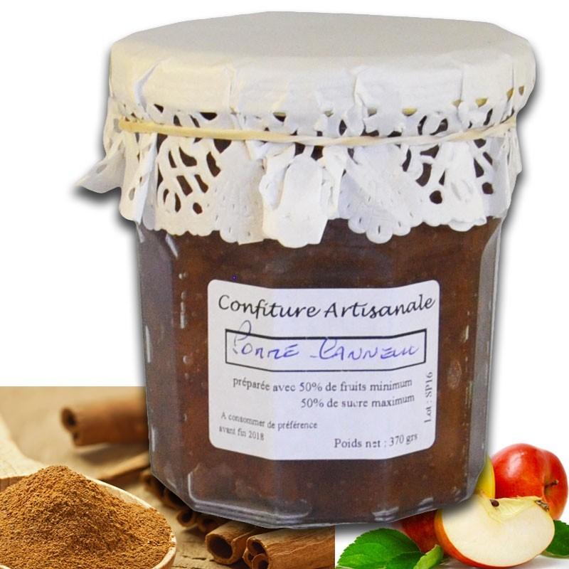 Confiture Pommes Cannelle - épicerie fine en ligne
