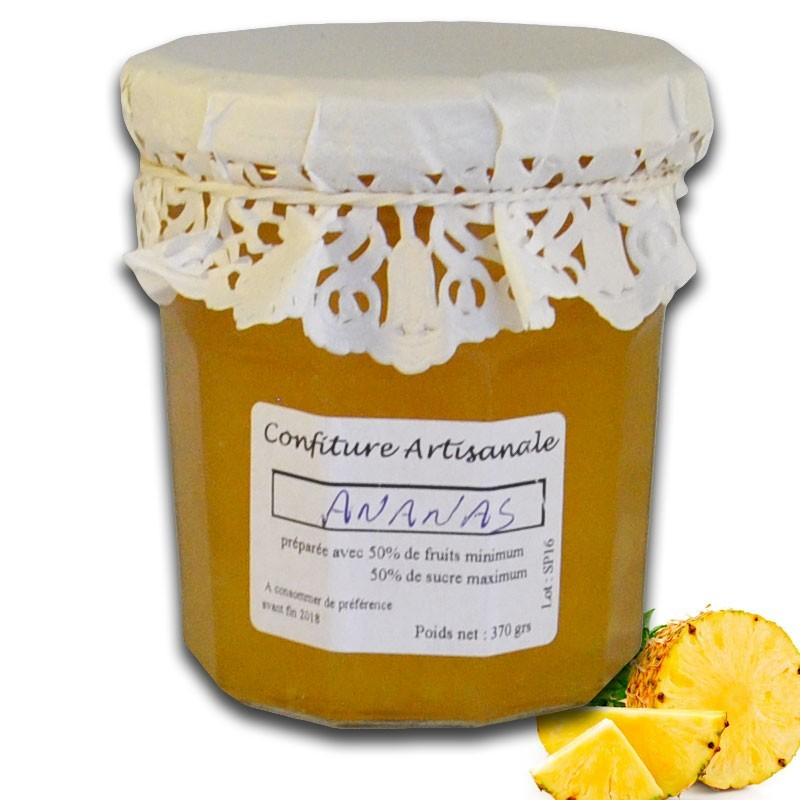 Confiture d'Ananas - épicerie fine en ligne