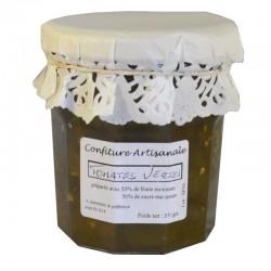 Marmellata di pomodoro verde