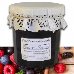 Confiture Fruits Rouges - épicerie fine en ligne