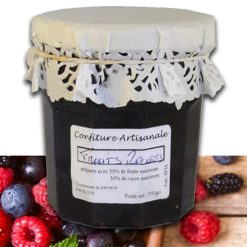 Red Fruits Jam - Online French delicatessen