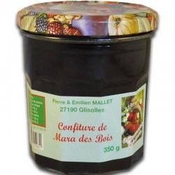 Franse Mara des Bois aardbeienjam