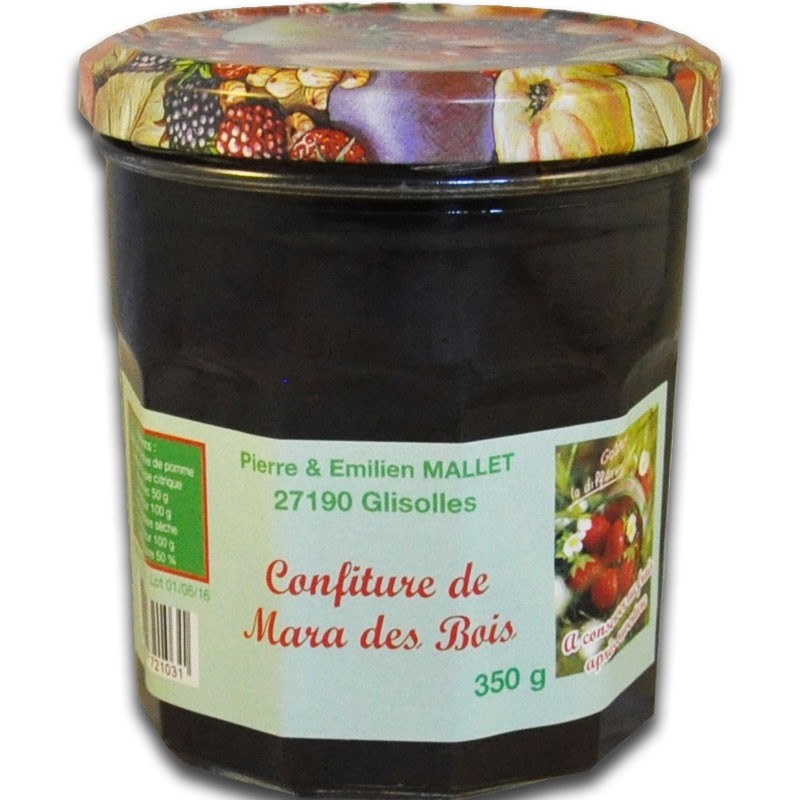 Marmellata di fragole alla francese Mara des Bois