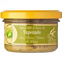 Tapenade mit grünen Oliven