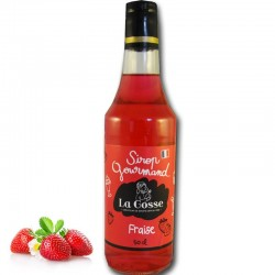 Strawberry syrup - Online French delicatessen