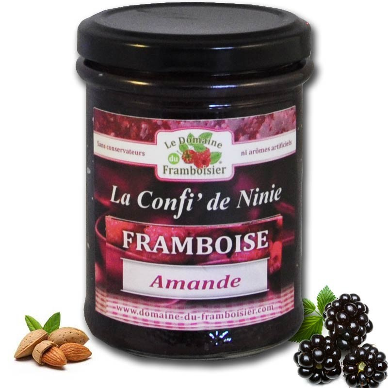 Raspberry en amandeljam - Franse delicatessen online