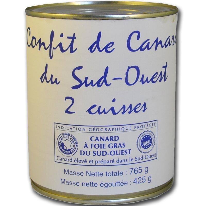 Confit de pato - delicatessen francés online