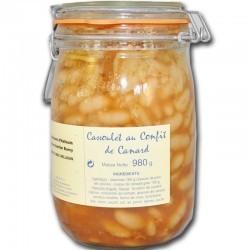 Cassoulet with duck confit - Online French delicatessen